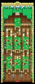 Interior del Gimnasio de Azulona en los videojuegos