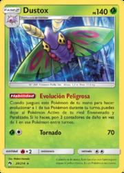 Dustox (Truenos Perdidos TCG).png