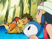 EP540 Ash, Brock y Maya en el agua.png