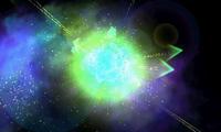 Rayquaza efectuando Ascenso draco
