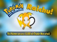 """""""El Atactrueno de este Pokémon es de 10,000 voltios""""."""