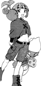 PMS346 Gardenia junto con sus Pokémon.png