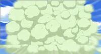 Cottonee usando rizo algodón.