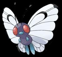 Ilustración de Butterfree