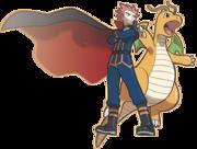 Lance y Dragonite Pokémon Masters.png