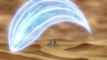 Flygon salvaje usando carga dragón.
