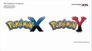 Logos de Pokémon X y Pokémon Y.png
