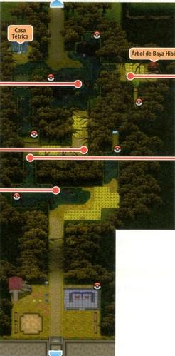 Mapa de la ruta 14
