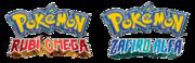 Logo Pokémon Rubí Omega y Pokémon Zafiro Alfa.png