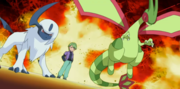 EP458 Absol, Flygon y Drew.png
