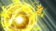 EP1000 Pikachu usando bola voltio.png