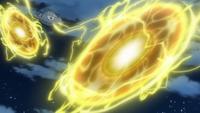 Magnezone usando bola voltio.