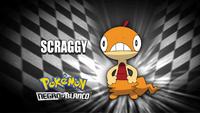 """Scraggy en el segmento """"¿Quién es ese Pokémon?/¿Cuál es este Pokémon?"""""""