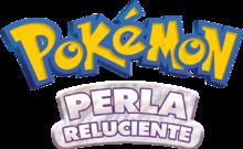 Logo Pokémon Edición Perla Reluciente