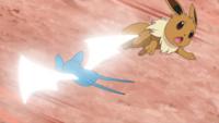 Zubat de Rapp usando ataque ala.