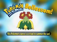 Este Pokémon danza para llamar al sol.