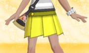 Minifalda Plisada Amarillo.png