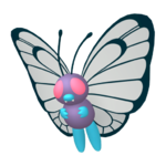 Butterfree macho