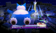 Snorlax usando golpe cuerpo SSB4 3DS.png