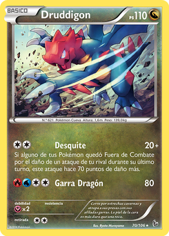 Carta de Druddigon