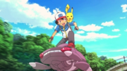 P16 Ash sobre Genesect.png