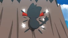 Litten usando arañazo