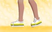 Zapatillas de Deporte Amarillo Gradual F.png