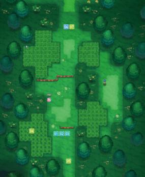 Mapa de la ruta 101