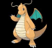 Ilustración de Dragonite