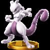 Trofeo de Mewtwo personaje SSB4 (Wii U).png