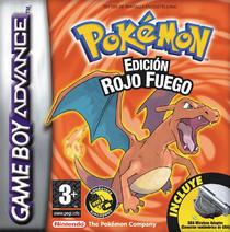 Carátula de Pokémon Rojo Fuego