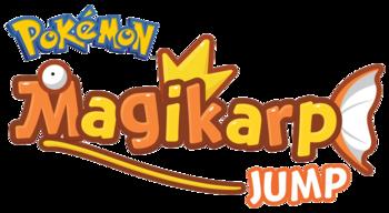 Logo de Pokémon Magikarp Jump