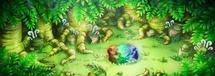 Bosque Evolución en Equipo de Rescate DX