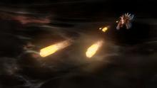 Dialga usando Cometa draco