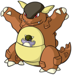 Kangaskhan (dream world).png