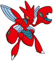 Scizor (dream world) 2.png
