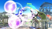 Meloetta atacando con su voz en SSB4 Wii U.png