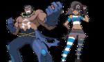 VS Matías y recluta del Equipo Aqua ROZA.png