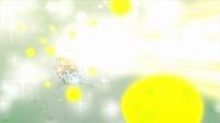 Ivysaur de Shauna/Xana usando rayo solar.