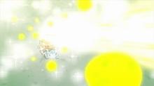 Ivysaur usando rayo solar.