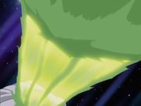 Shelgon usando dragoaliento