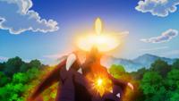Garchomp usando cometa draco.