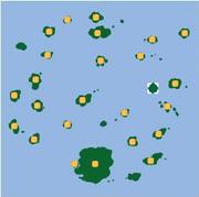 Localización de la isla sin nombre 2.