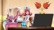 EP883 Aria con sus Pokémon.png