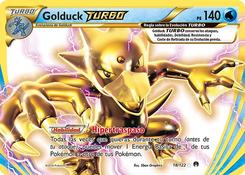 Carta de Golduck TURBO
