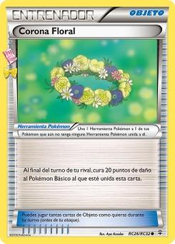 Carta Corona Floral