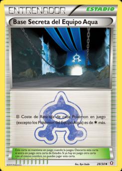 Carta Base Secreta del Equipo Aqua