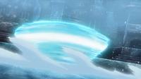Avalugg de Édel usando giro bola.