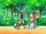 EP544 Maya con sus Pokémon.png