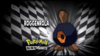 """Roggenrola en el segmento """"¿Quién es ese Pokémon?/¿Cuál es este Pokémon?"""""""
